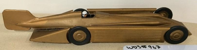 Henry Seagrave 1929 Golden Arrow Model Car, WOS#967