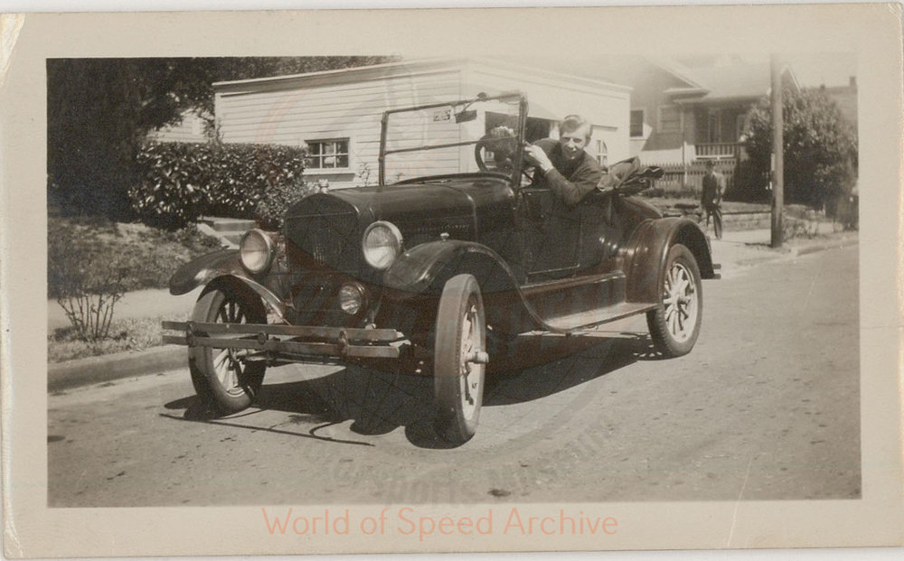 WOS#3786 - GM06 p93: Jimmy's 1926-29 Model T before turning it into a stock car