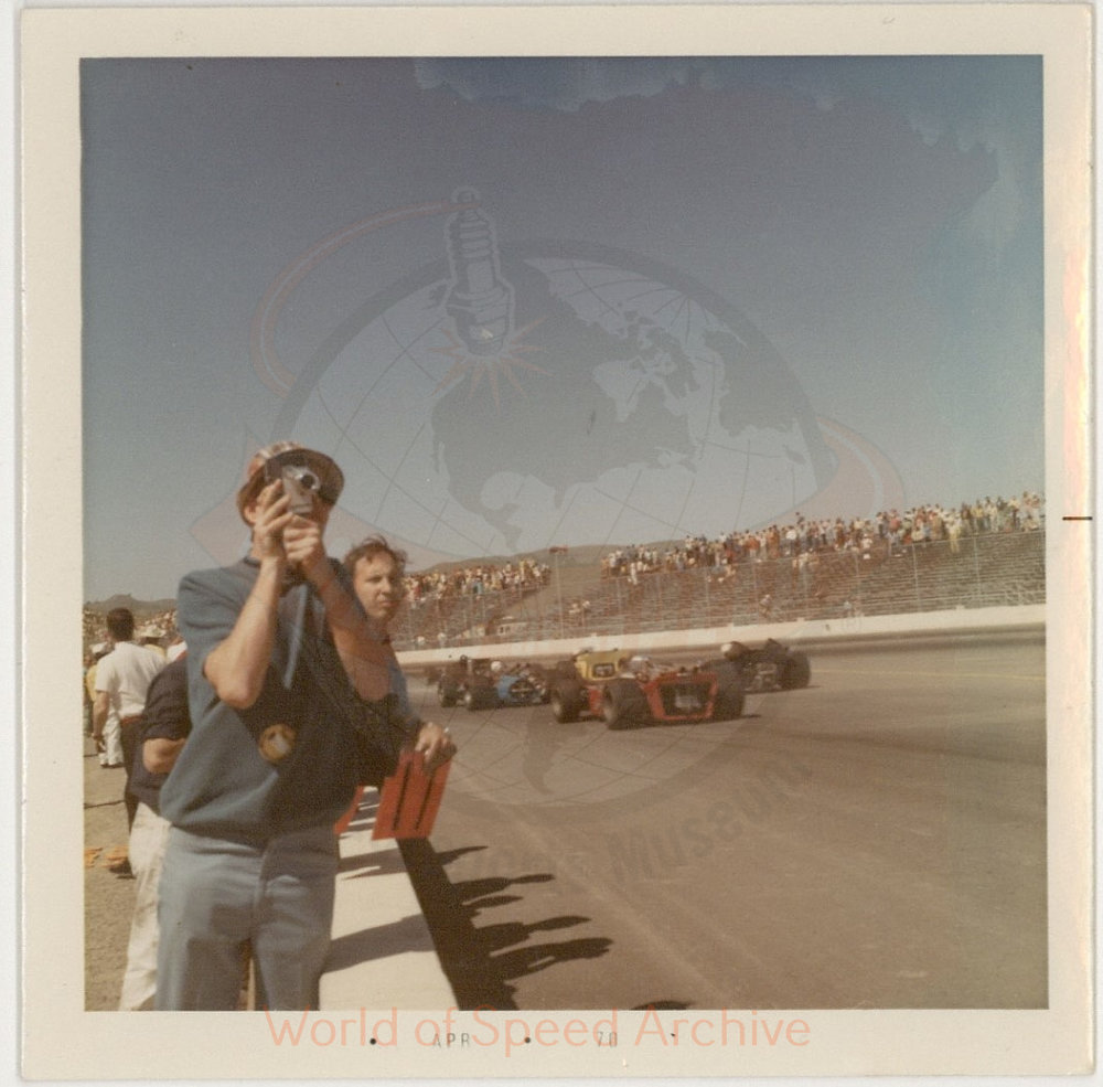 WOS#3786 - GM07 p107: 1970 Indy race at Sears Point, 1970