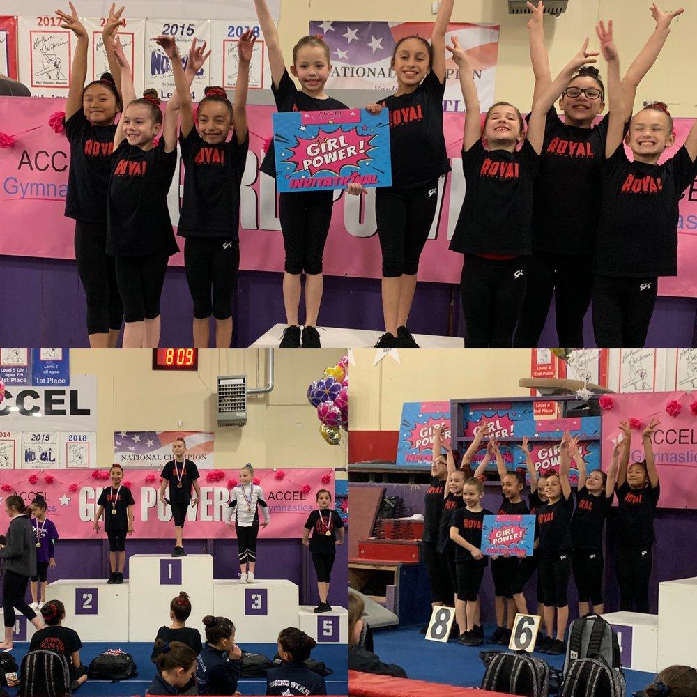 Girl Power 2019 Meet @Accel 3/9/2019 - 3/10/2019 - Burlingame, Ca