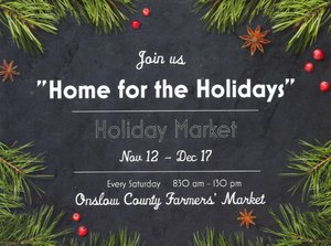 "'Home for the Holidays"" Holiday Market"