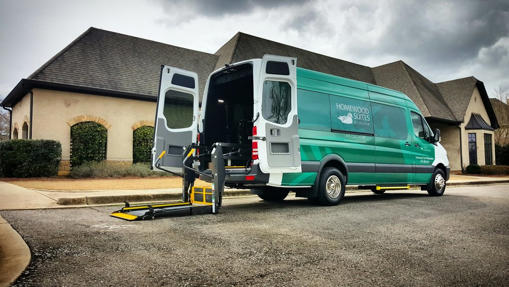 PARATRANSIT MOBILITY SPRINTER SHUTTLE