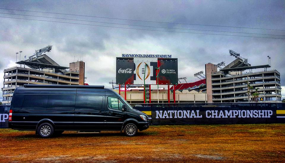 MD Nick Saban Signature Series Exec Lounge Sprinter In Its Natural Habitat