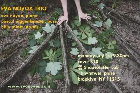 Eva Novoa Trio poster 2