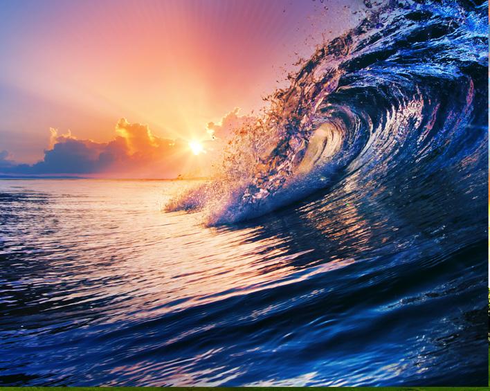"""Sunset Wave "" — Galleria Provenza"