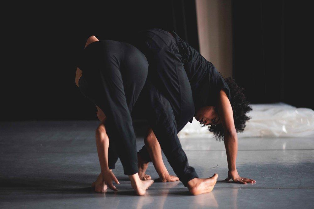 Rehearsal at Swindon Dance (2018)