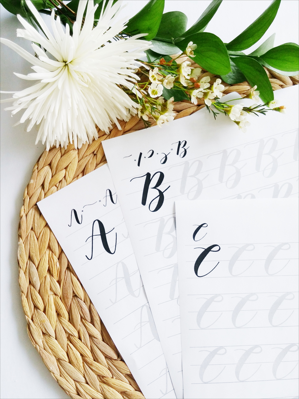 Grace Song Calligraphy Worksheets