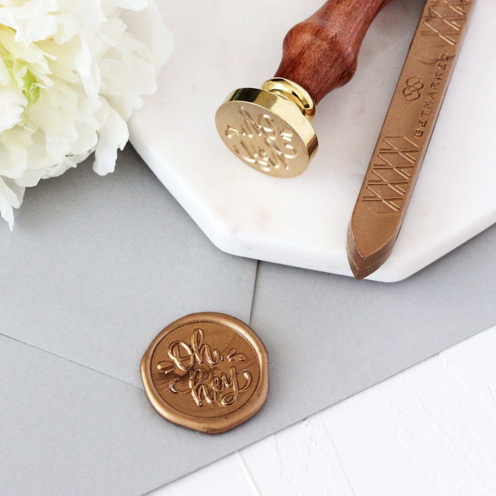 Grace Song Calligraphy Wax Seal Stamp