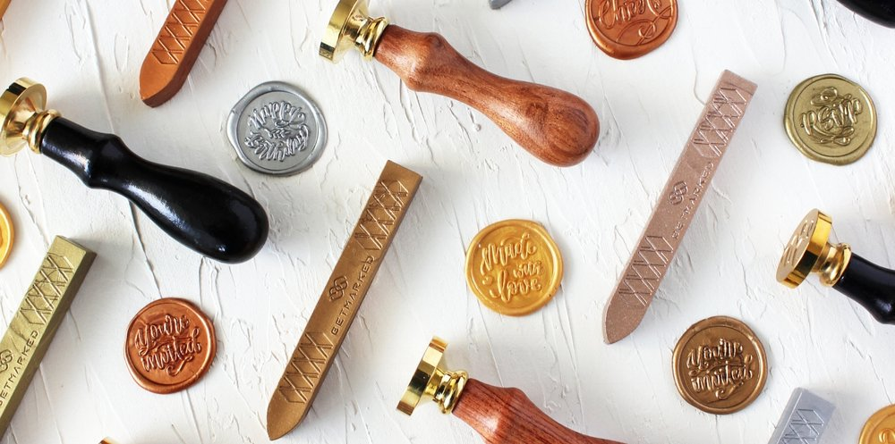 Grace Song Calligraphy Wax Seal Stamps