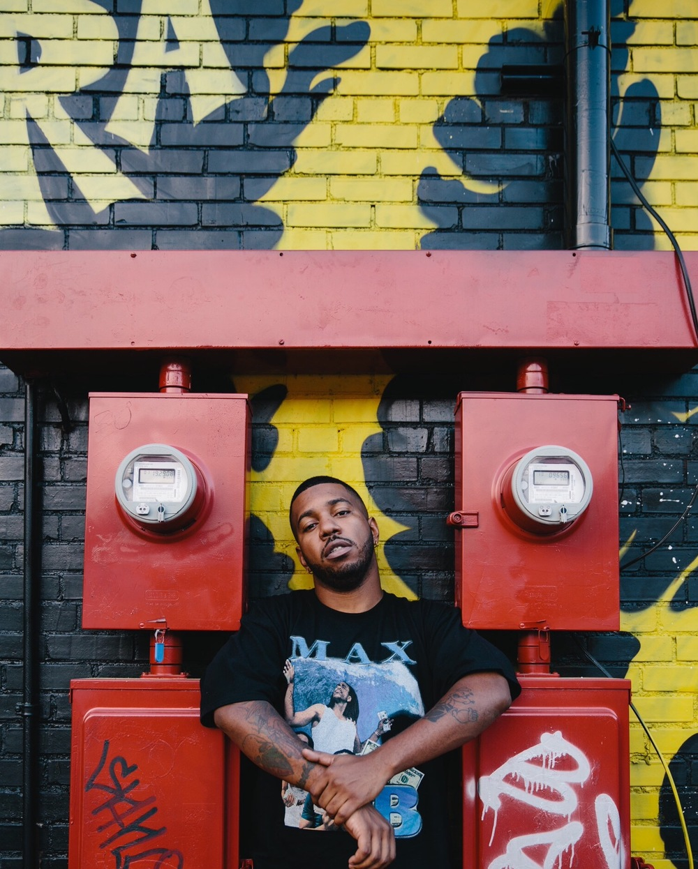 Chuck Inglish - Atlanta, 2015 Still - Max B Shirt - 2 --- Photo Credit to Zach Wolfe.jpg