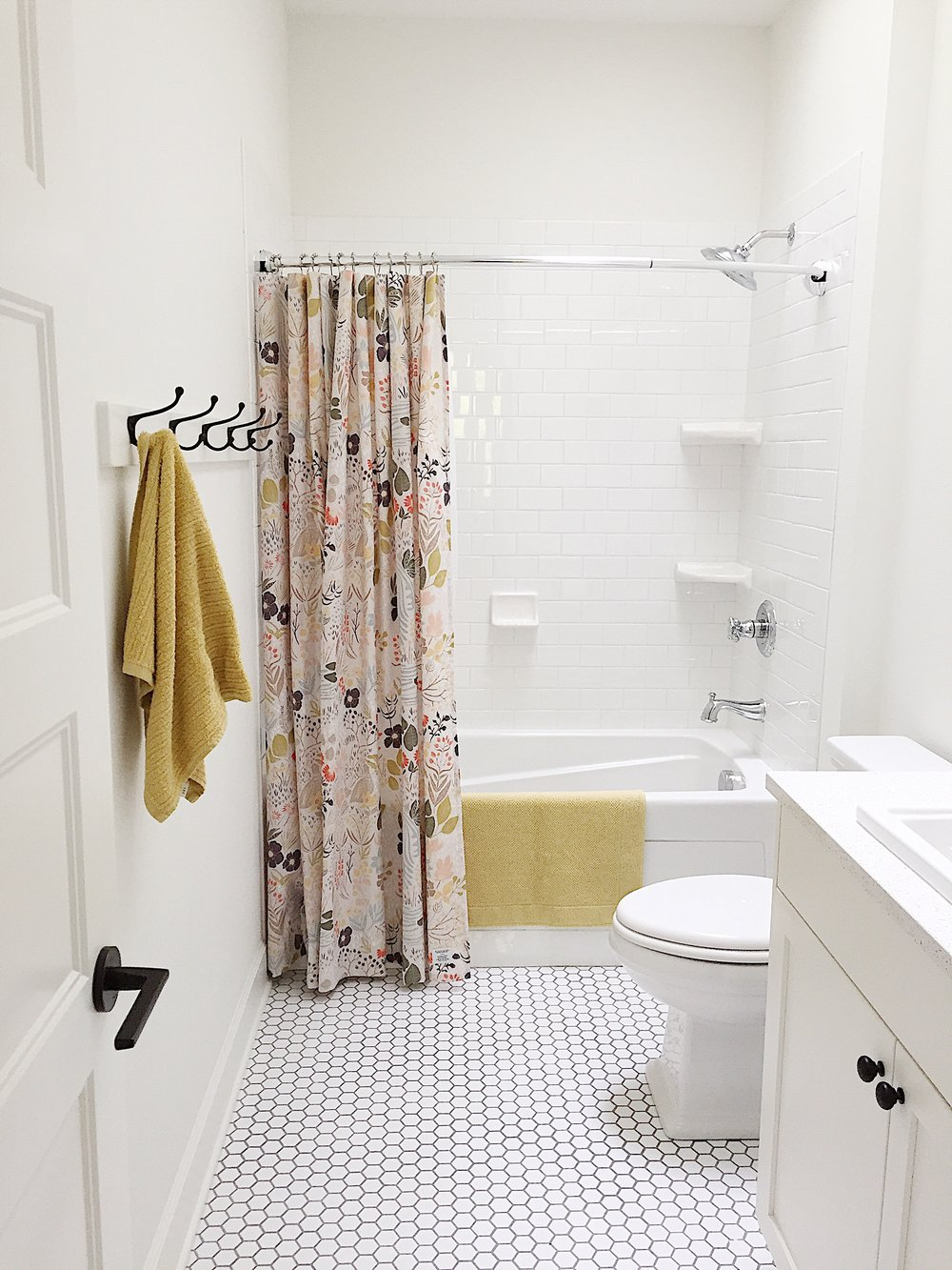 Shower Curtain ,  Towels