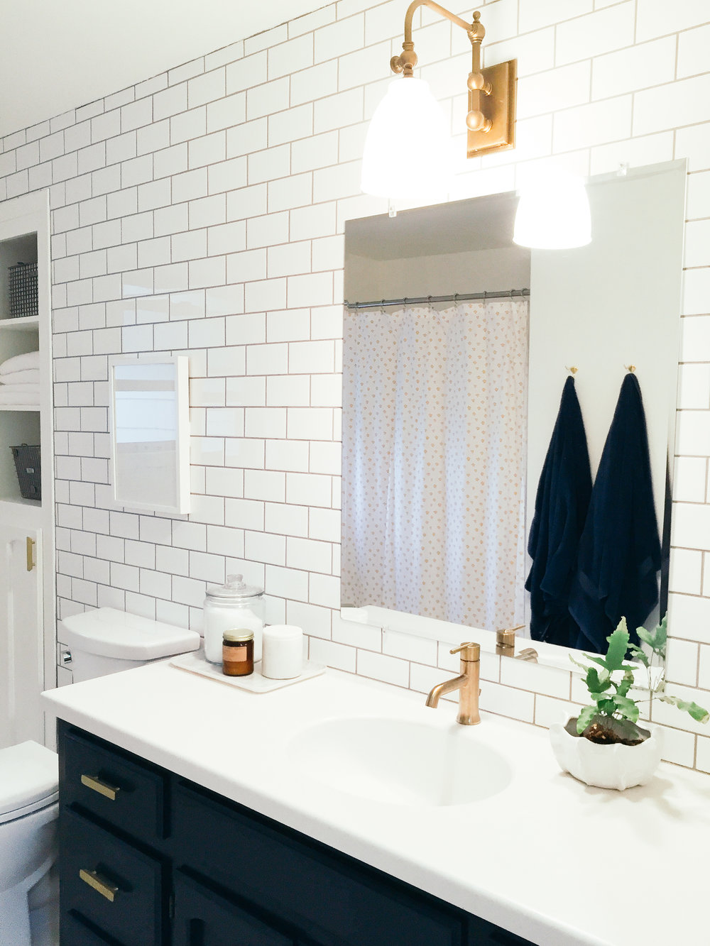 Kidd Guest Bathroom / Before & After —