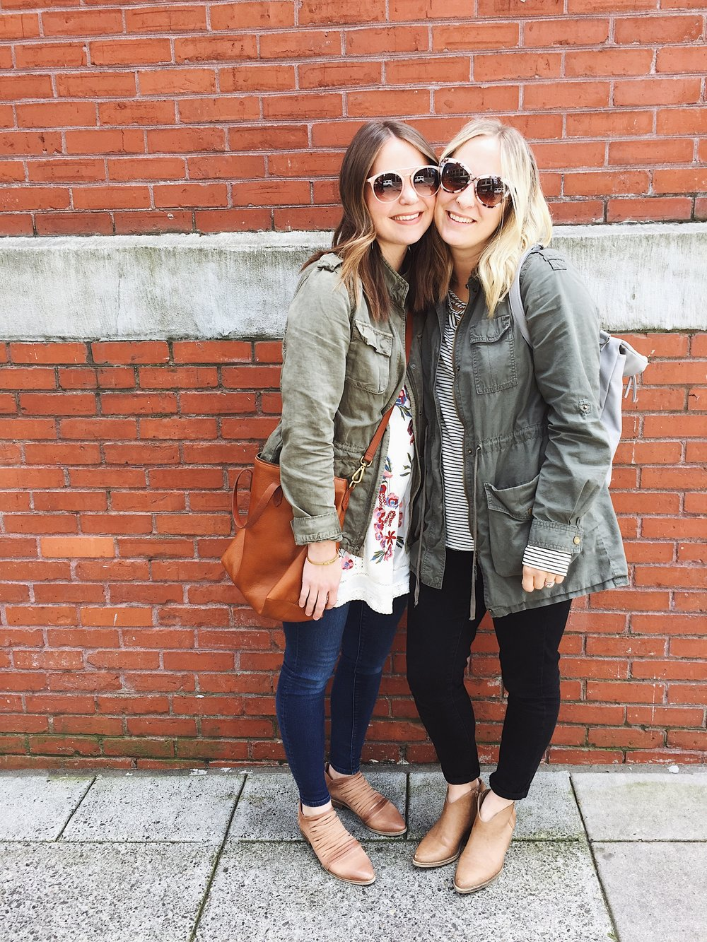 Sunglasses ,  Bag,   Jacket ,  Top (similar) ,  jeans ,  shoes