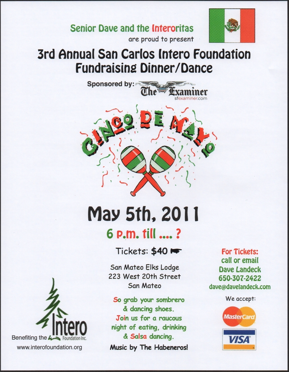 Cinco De Mayo Flyer 2011.1