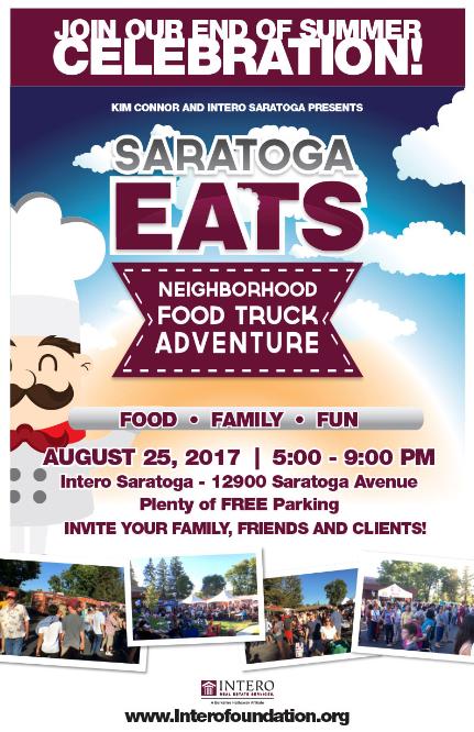Saratoga Eats - August 25, 2017