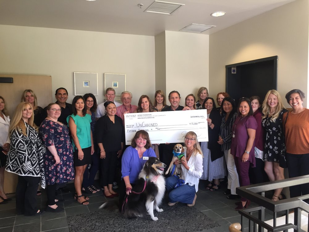 unchained check presentation- los altos.jpg