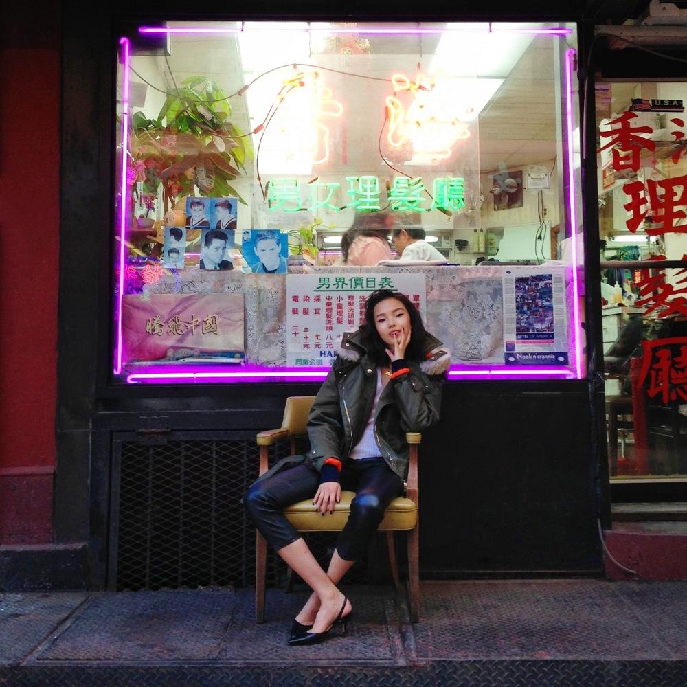 Xiao Wen Ju for Vogue