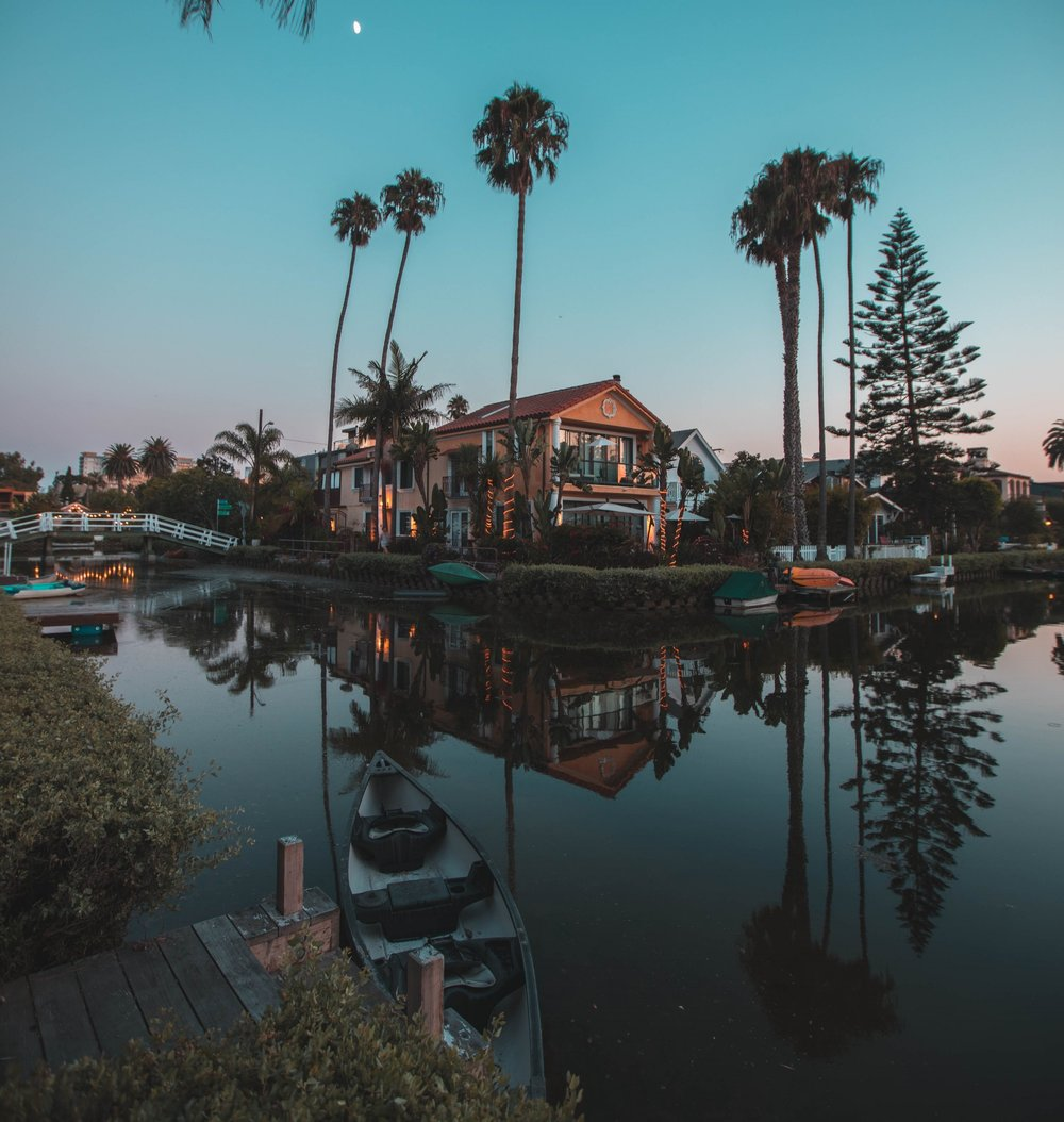 Venice Canals, Venice CA. // Photo:  @rpnickson
