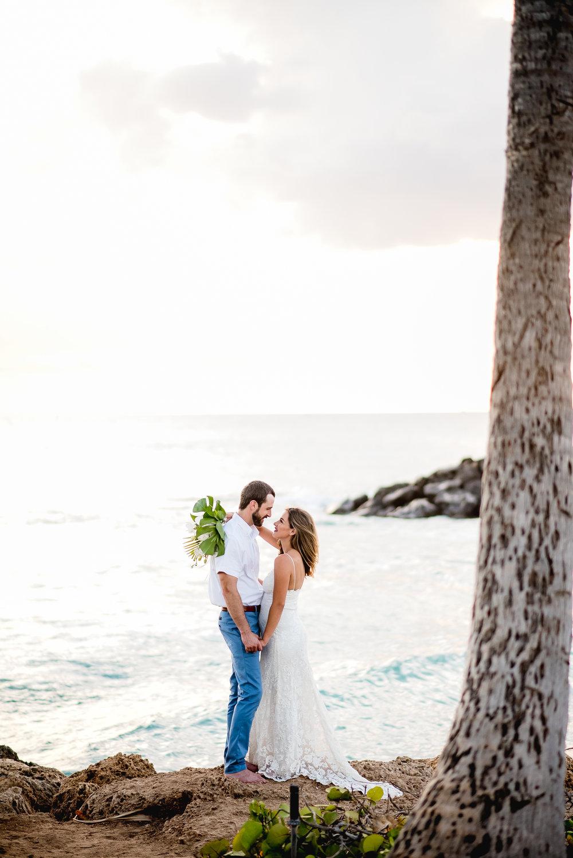 Olivia + Kevin  Ko Olina, Hawaii