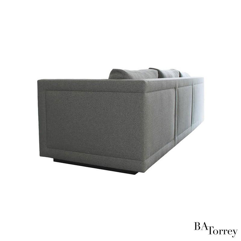 Gemma High Arm Sofa   B.A. Torrey