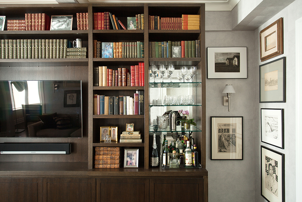 Central Park West Apartment, New York City - Design by B.A. Torrey