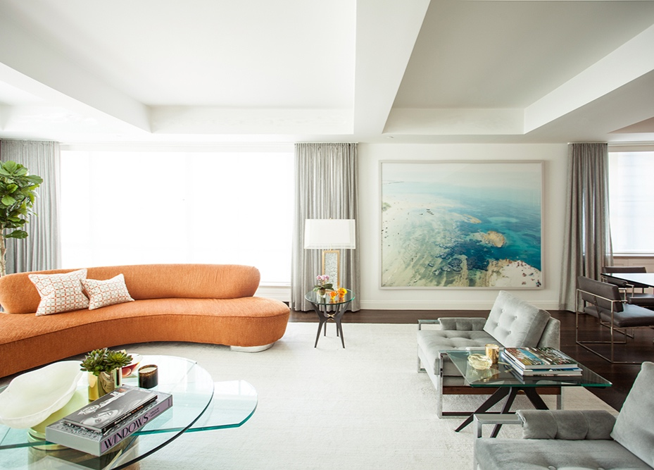Greenwich Village Duplex, New York City - Design by B.A. Torrey