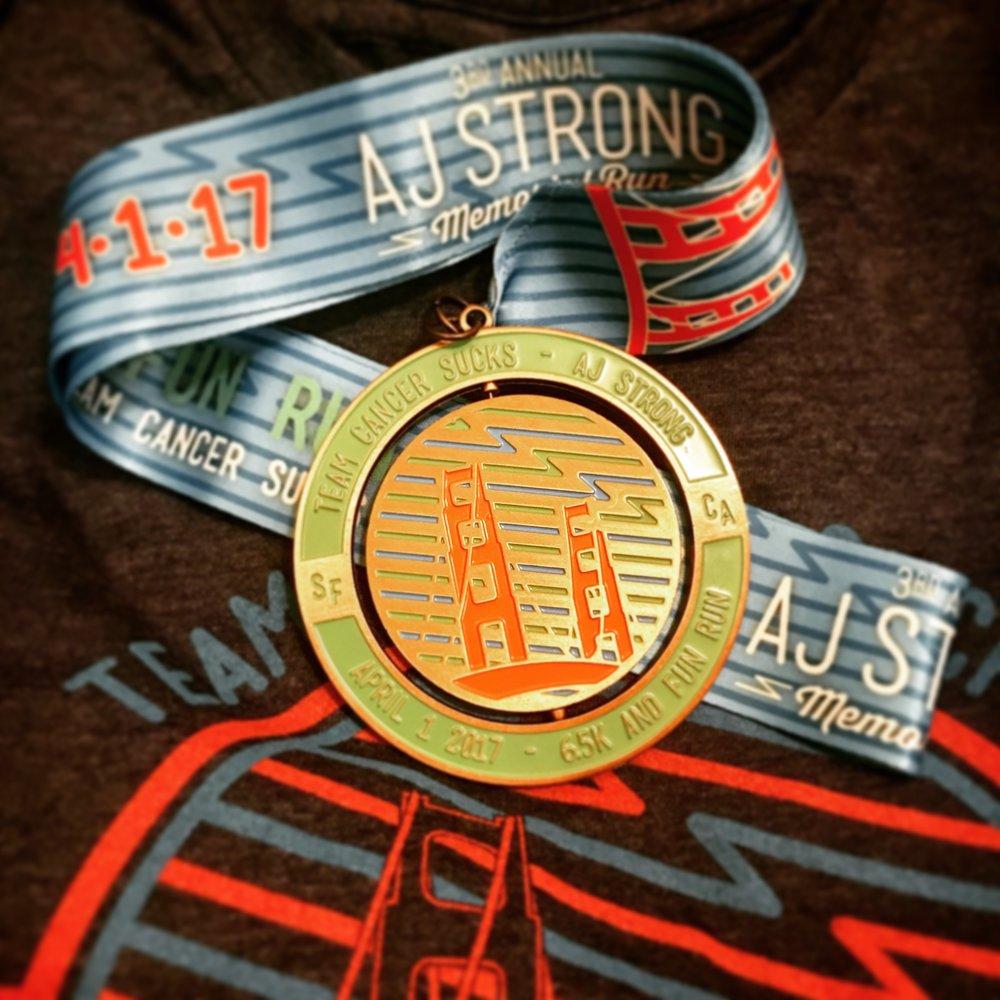 AJ Strong Medal