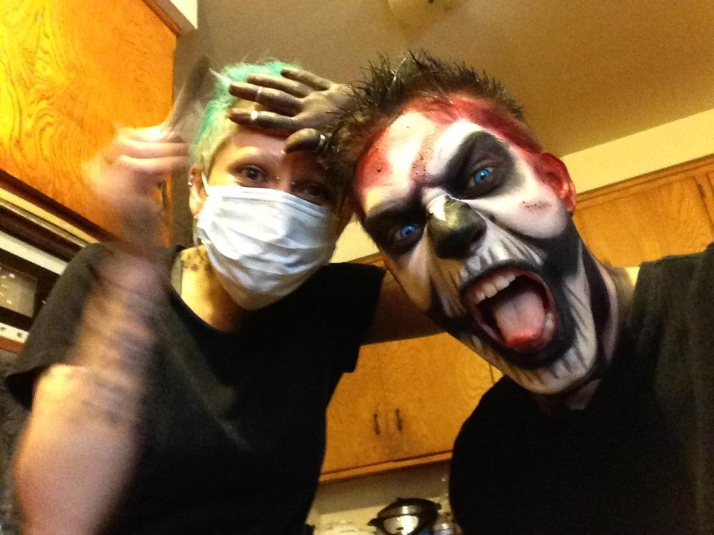 Billy Boy the Clown & Kitty Clown