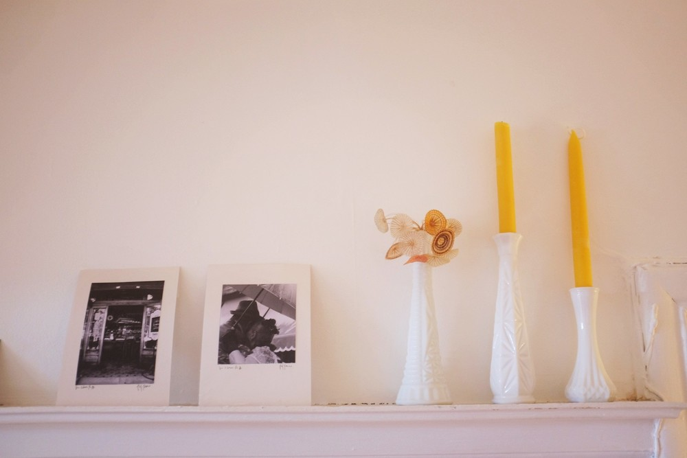 Marta's love of photography is evident throughout her home.