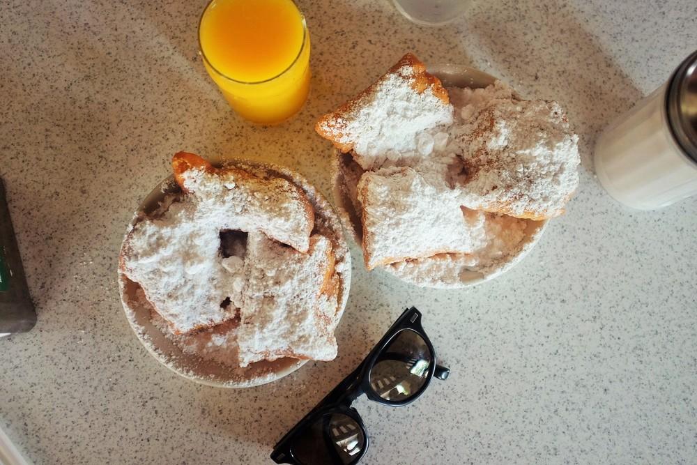 Beignets at  Café Du Monde : pics or it didn't happen.