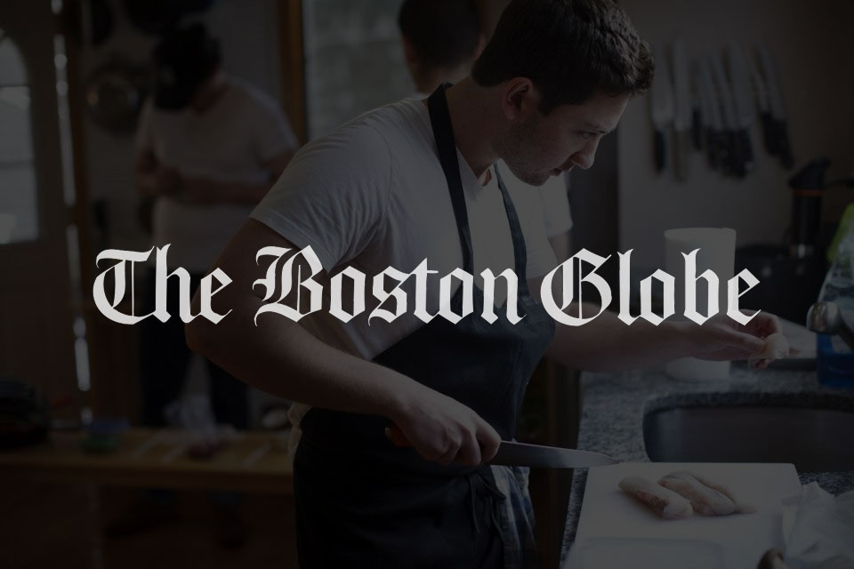 Boston Globe Press Shot