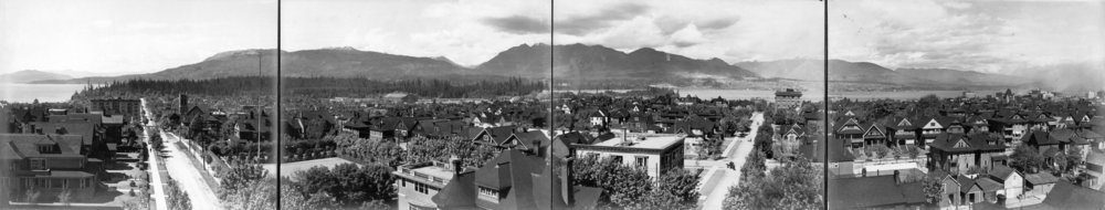 Source: The City of Vancouver Archives  Reference Code:AM54-S4-: PAN P112  Item : PAN P112 - [Panoramic view of the West End from the Royal Alexandra Apartments at Bute and Comox]  http://searcharchives.vancouver.ca/panoramic-view-of-west-end-from-royal-alexandra-apartments-at-bute-and-comox