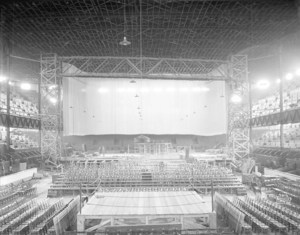 Image source: The City of Vancouver Archives  Reference Code:AM1399-S3---: CVA 1399-523  Item : CVA 1399-523 - [Photograph of arena stage construction]  http://searcharchives.vancouver.ca/photograph-of-arena-stage-construction