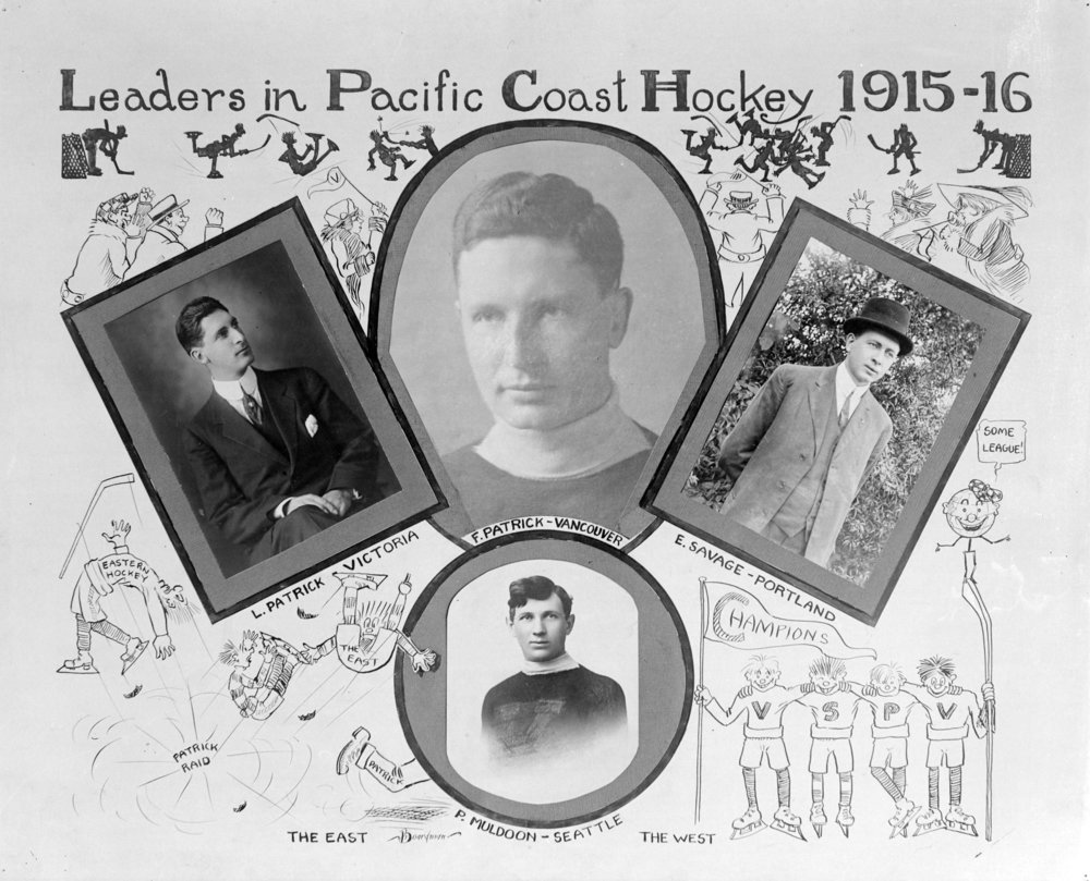 Source: The City of Vancouver Archives Reference Code: AM1535-: CVA 99-623 Item : CVA 99-623 - Leaders in Pacific Coast Hockey 1915-16