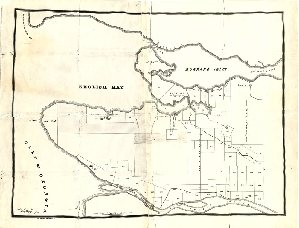 Image Source: The City of Vancouver Archives  Reference Code: AM1594-: MAP 531  Item : MAP 531 - [Vancouver, B.C. : district lots]   http://searcharchives.vancouver.ca/vancouver-b-c-land-subdivision