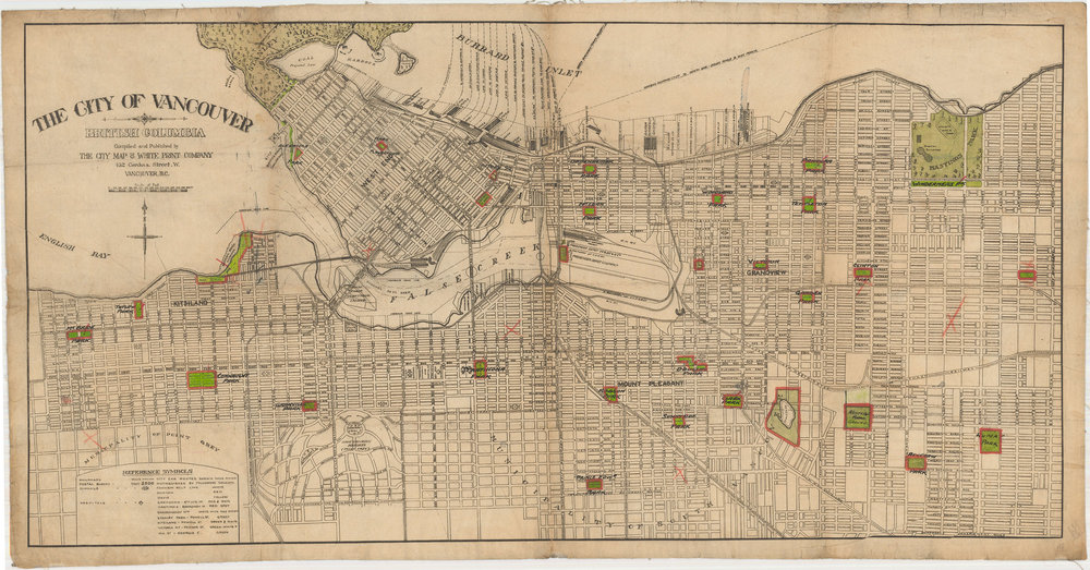 Image Source: The City of Vancouver Archives  Reference Code: AM1594-: MAP 745  Item : MAP 745 - The city of Vancouver, British Columbia   http://searcharchives.vancouver.ca/city-of-vancouver-british-columbia-6