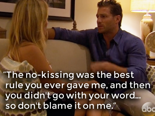 MAN UP, JUAN PABLO.