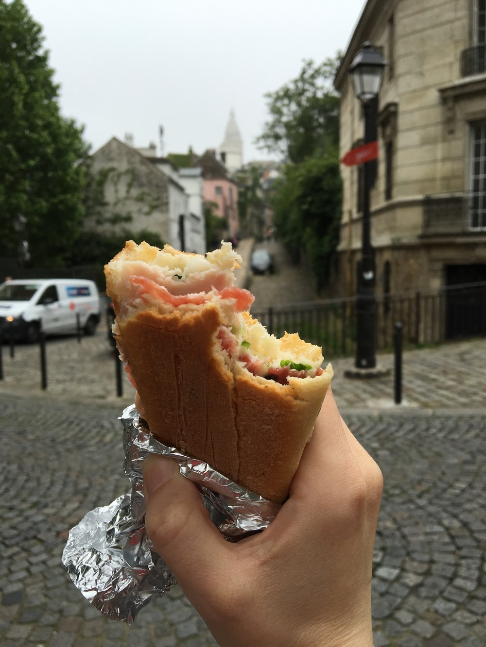 Everything tastes better in Paris