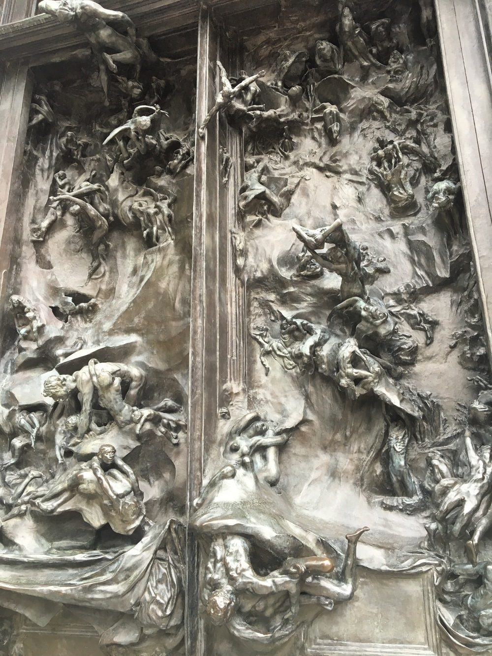 Gates of Hell up close