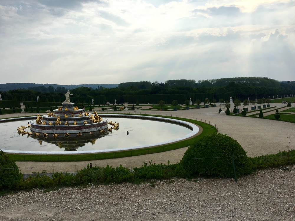 Lotta fountains at Versailles