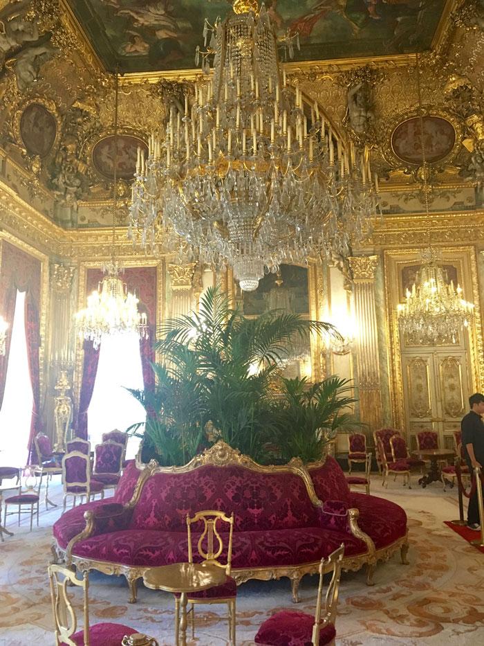 Napoleon III's digs