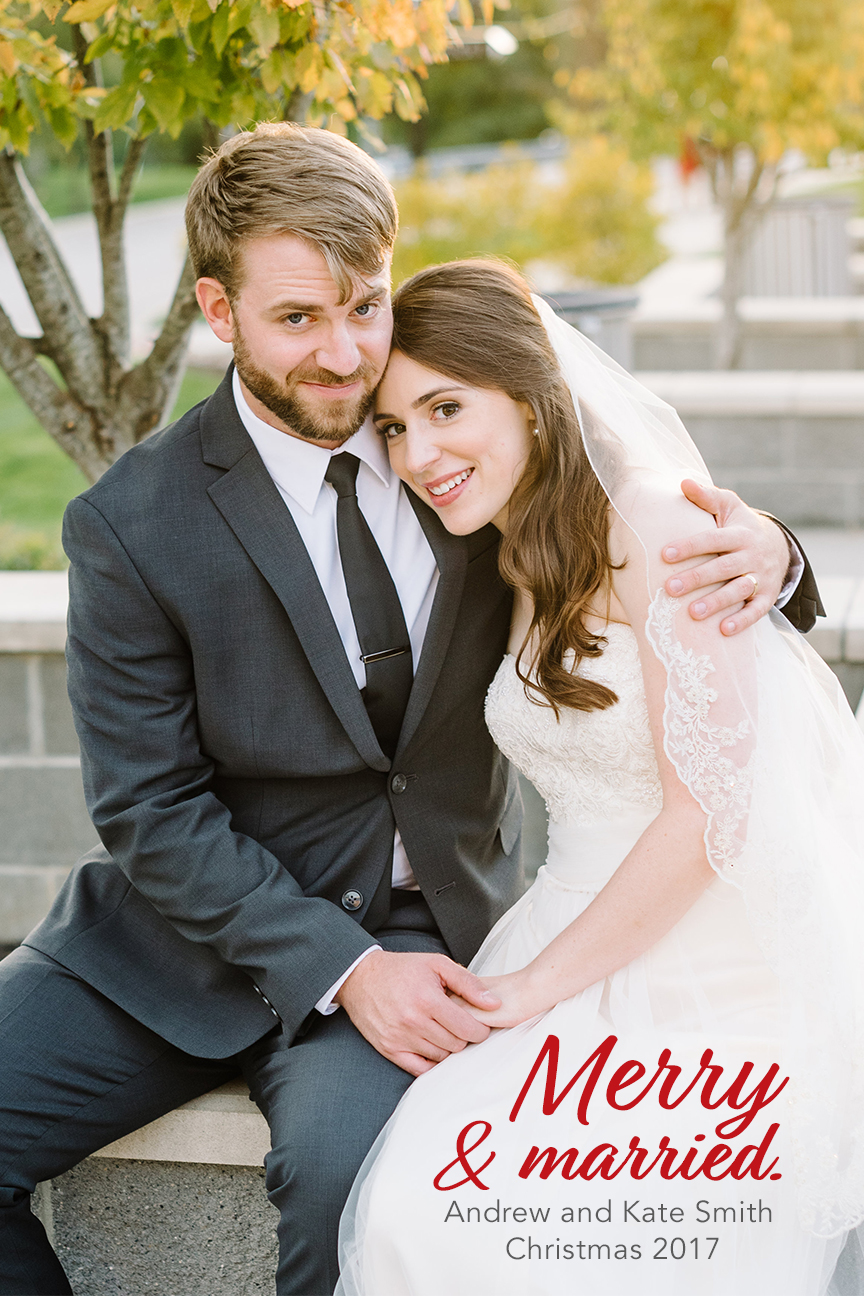 My 5-minute post-Christmas Christmas card. Photo by  Karyn Johnson Photography !