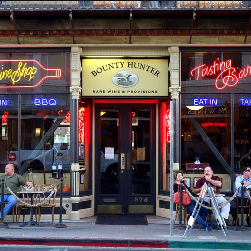 Bounty Hunter Wine Bar & Smokin' BBQ
