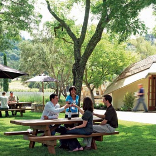Napa Cellars picnic area