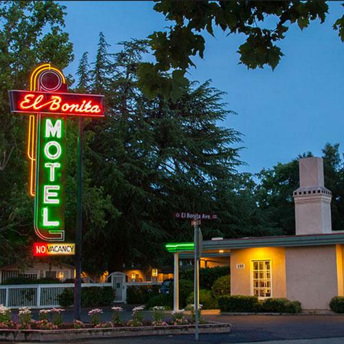 El Bonita Motel St Helena napa