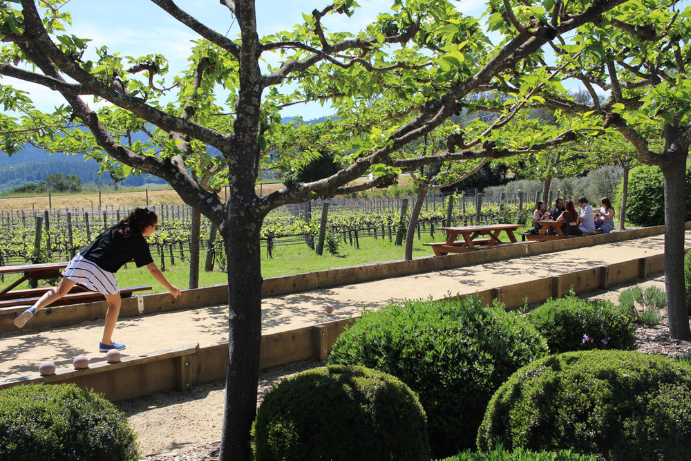 Bocce Ball at Dutch Henry Winery Napa