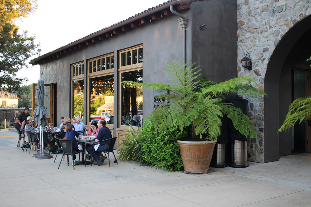 Redd Wood restaurant in Yountville