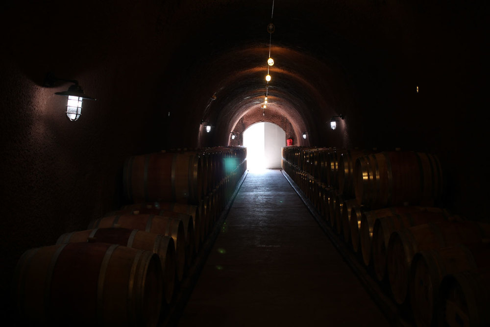 Conn Valley winery Caves