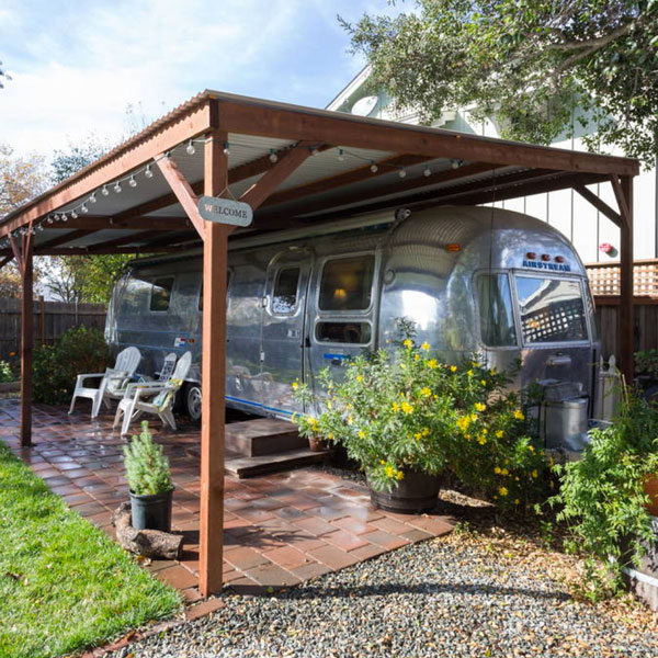 Silver Cloud Airstream Napa Airbnb