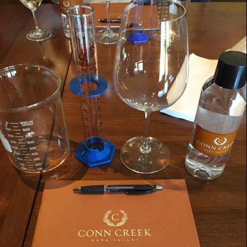 Conn Creek Blending Experience Napa